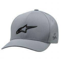 Alpinestars Men's Ageless Deta Flexfit Hat Charcoal Gray