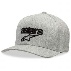 Alpinestars Men's Heritage Blaze Flexfit Hat Gray Htr/Black