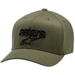 Alpinestars Men's Heritage Blaze Flexfit Hat Military Green/Black