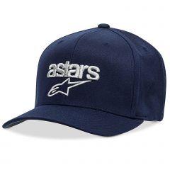 Alpinestars Men's Heritage Blaze Flexfit Hat Navy Blue/Gray