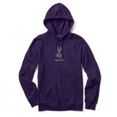 Primitive x Dragon Ball Z Men's Destroyer Long Sleeve Hoodie Purple