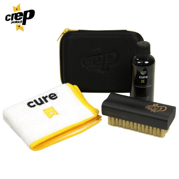 Crep Protect Cure Travel Kit + 2 Rain & Stain Shoe Spray (Combo)