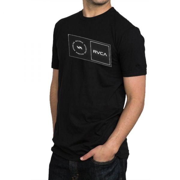 RVCA Sport Mens Sport Balance Box Short Sleeve Shirt