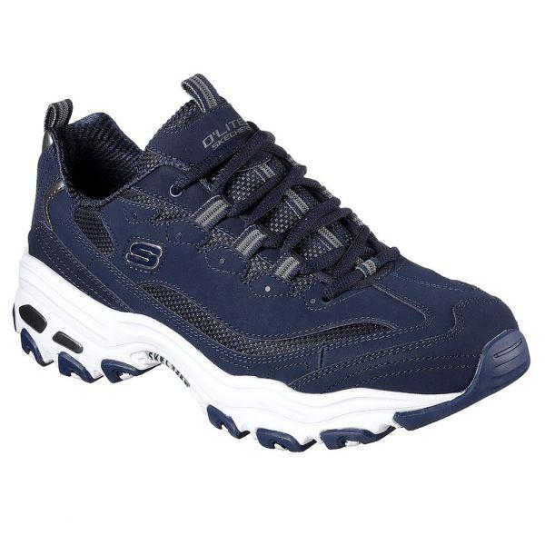 D'Lites Low Top Sneaker Shoes Blue
